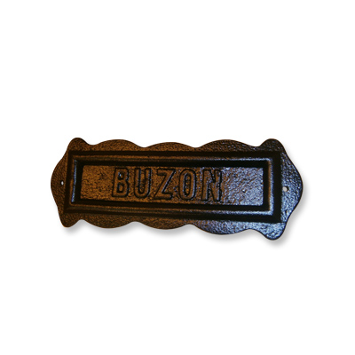 Frente Buzon Aluminio
